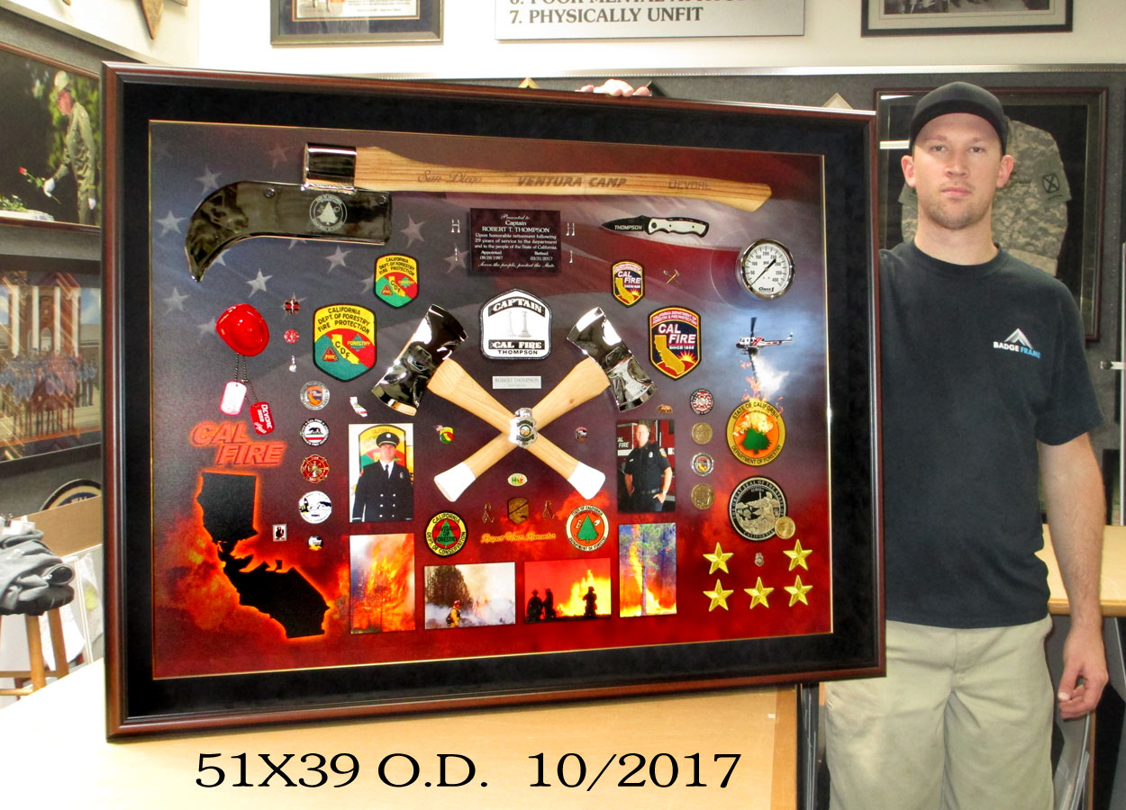 Captain Thgompson - Cal Fire presentation from Badge Frame 10/2017