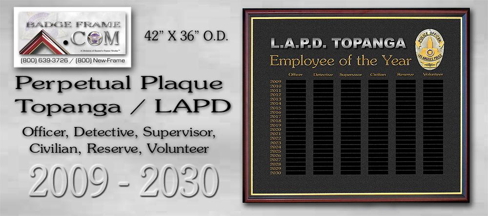 Topanga Perpetual               Plaque