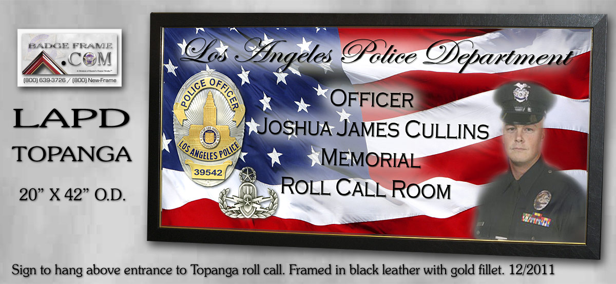 Topanga - Roll Call Room Sign