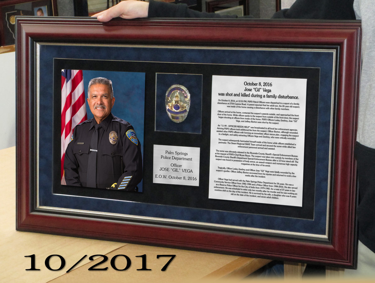 PSPD / E.O.W. / Vega Presentation from Badge Frame 10/2017
