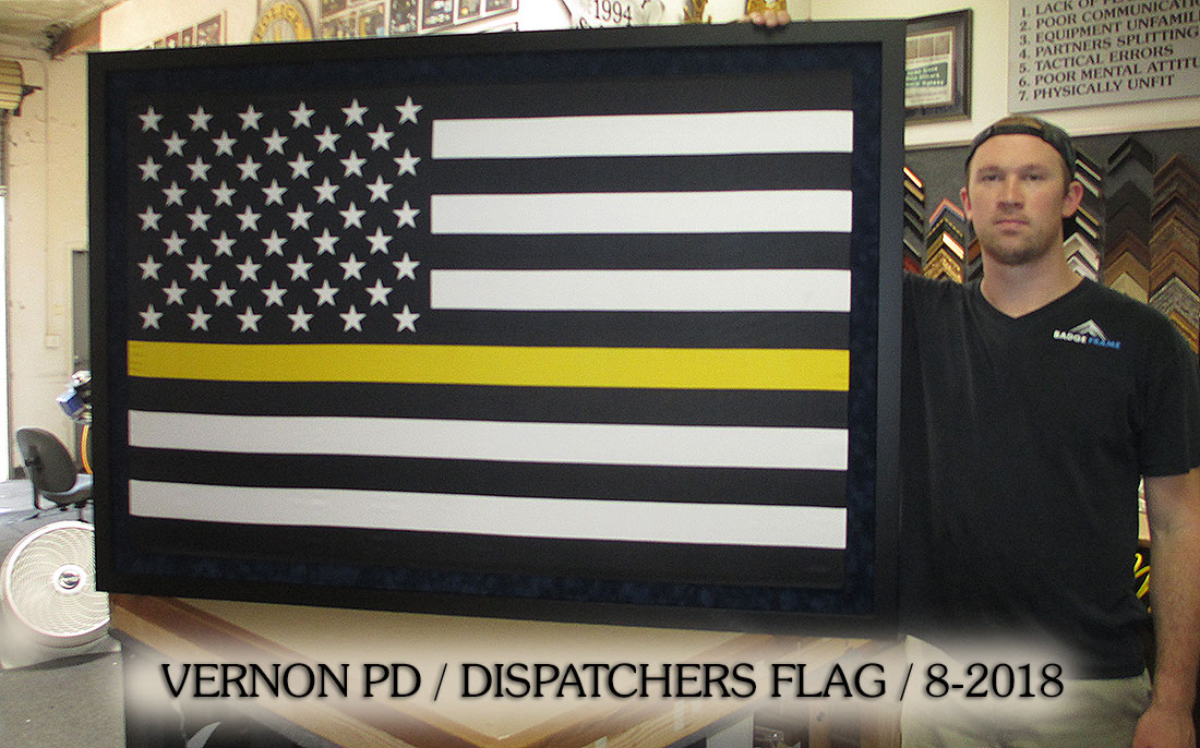 Vernon PD - Dispatchers Flag