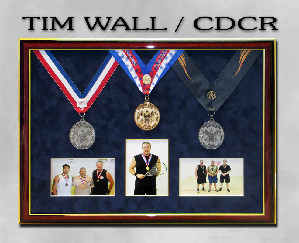 Tim           Wall - CDCR - Police Games presentation by Badge Frame
