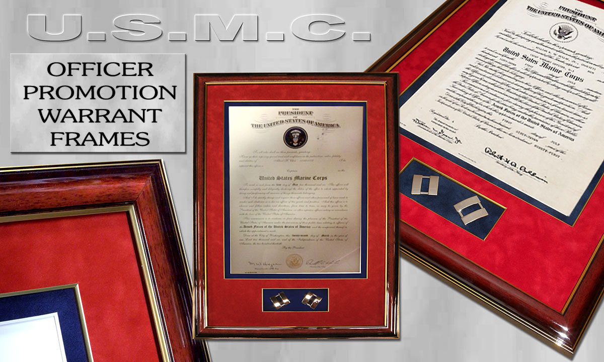 Warrant Promotion               Frames