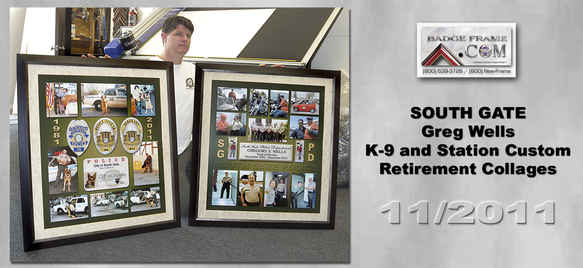 Greg Wells - SGPD Retirement Collages