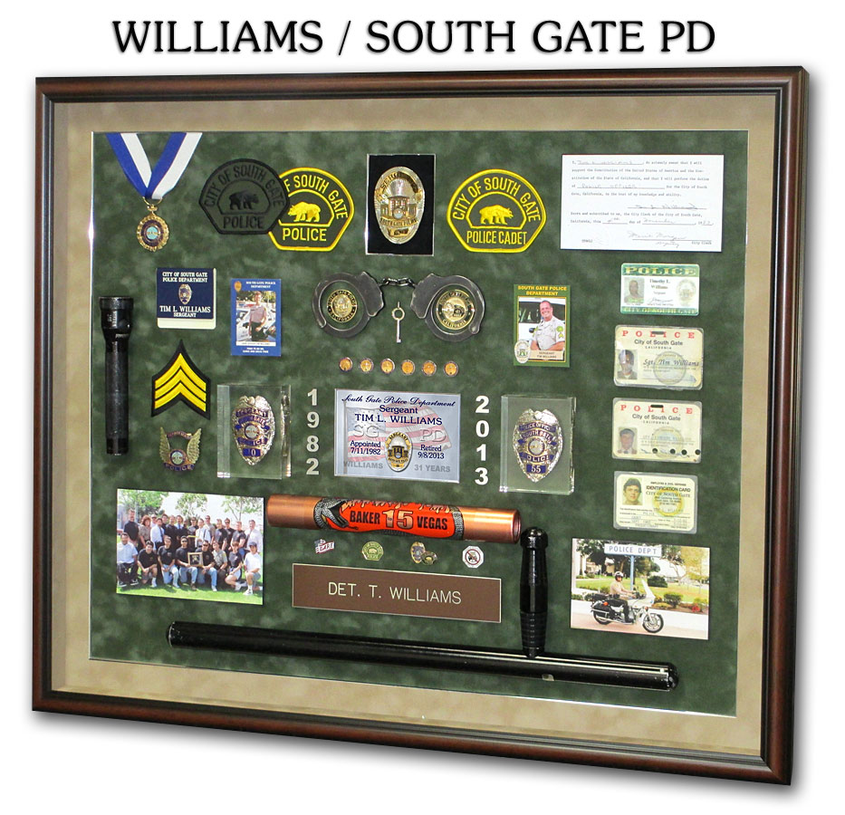 Williiams / South Gate PD
