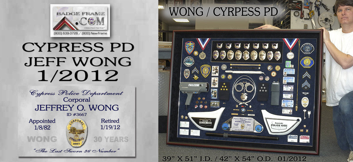 Wong           - Cypress PD