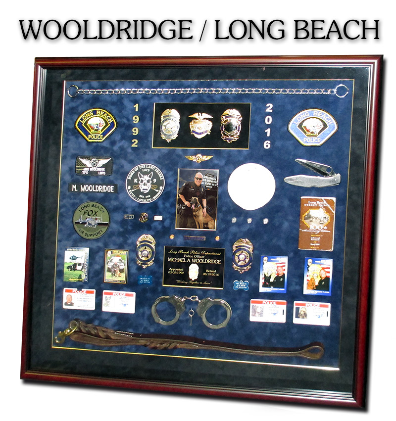 Wooldridge - Long Beach PD           preentation from Badge Frame