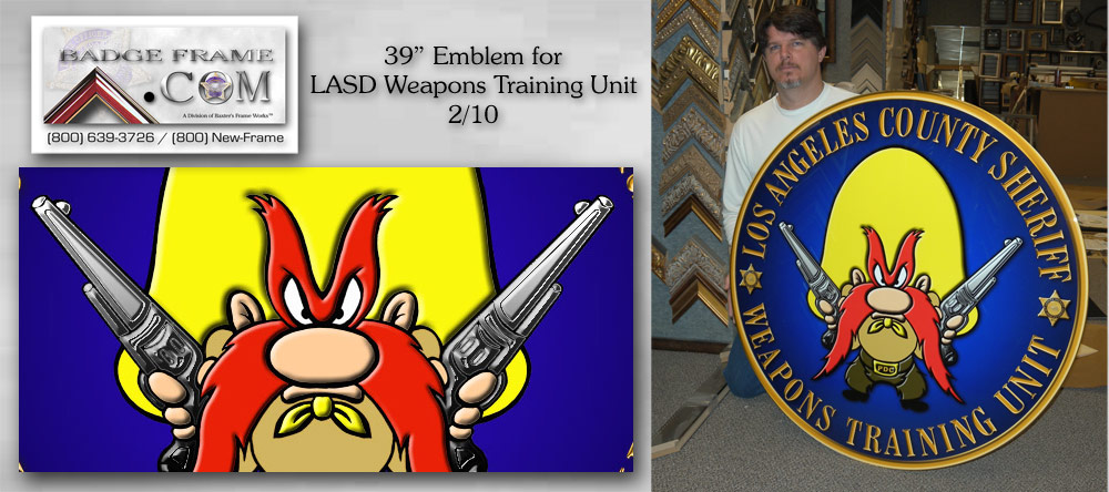 LASD Weapons Training Unit