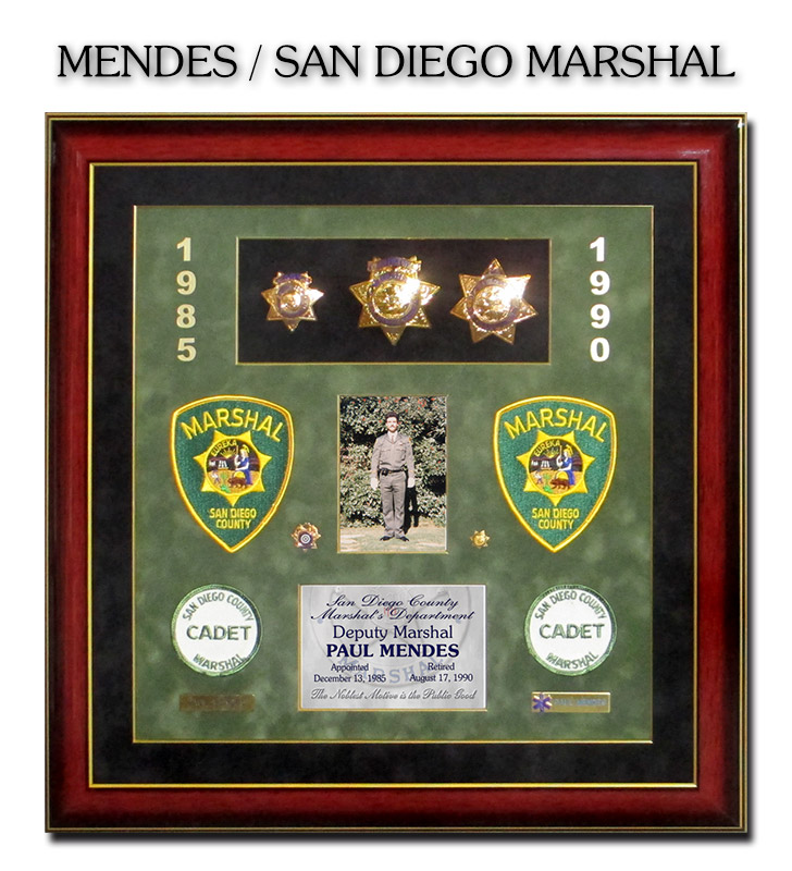U S  Marshal Projects from Badge Frame