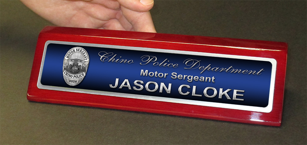 Excellent Custom Desk Nameplates GP66