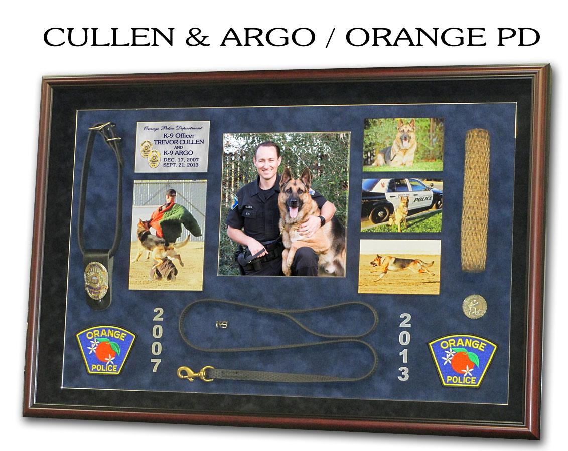 K9 projects from badge frame cullen argo orange jeuxipadfo Choice Image