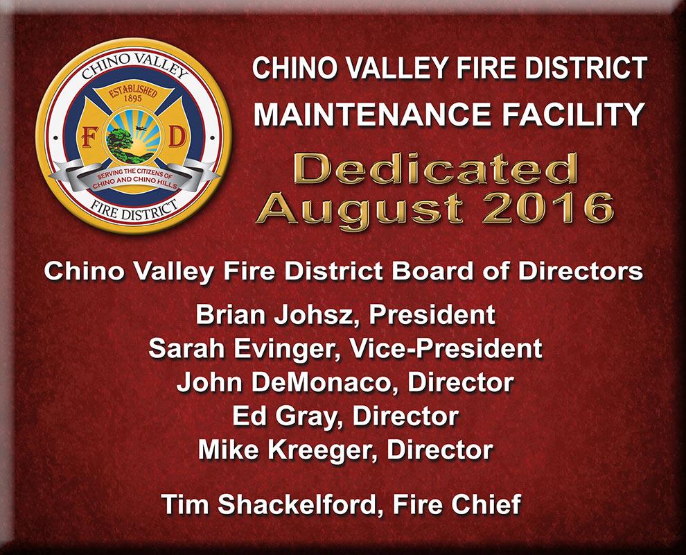 Placerville Fire Station Conference Room
