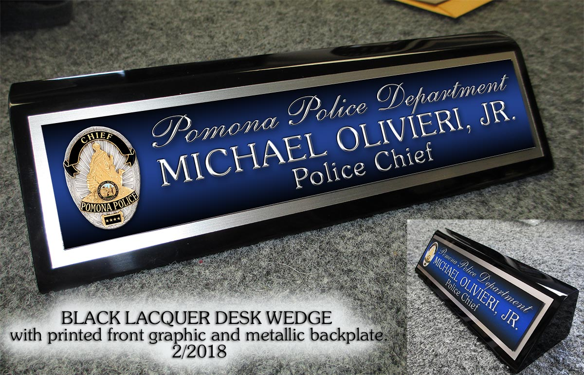 Relatively Custom Desk Nameplates RM22