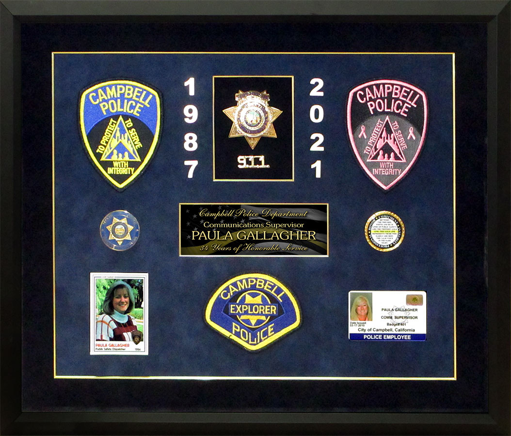 Multiple Size Options /& Gifts Police Badge Laser Cutout; DIY Crafts Decor