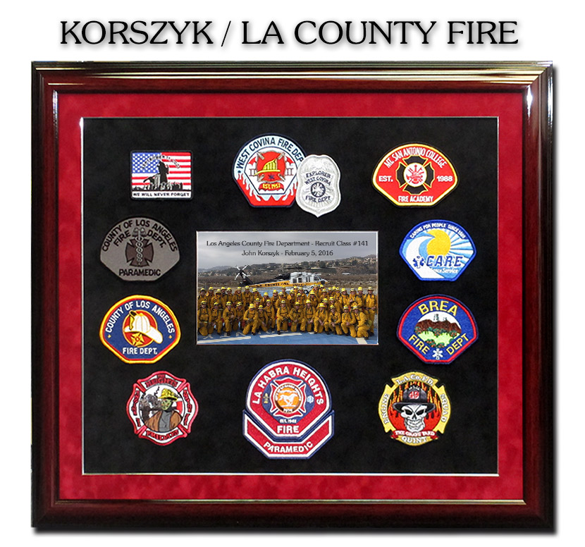 Patches on fire – a collection of fire patches owned by kel o'shea.