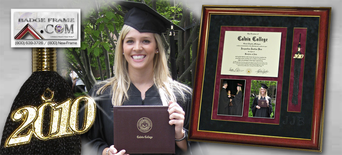 Diplomas, Graduation and certificate framing