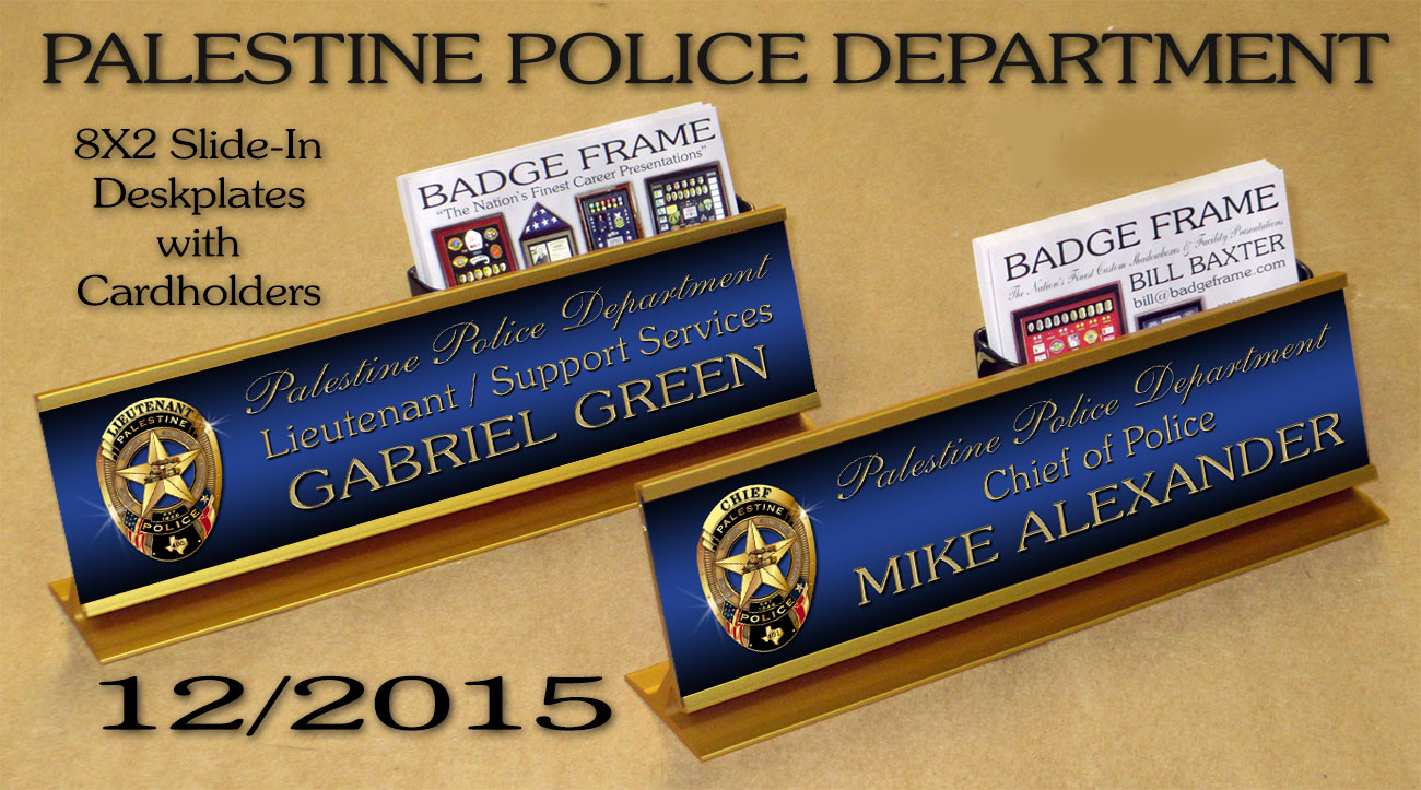 Popular Custom Desk Nameplates SF12